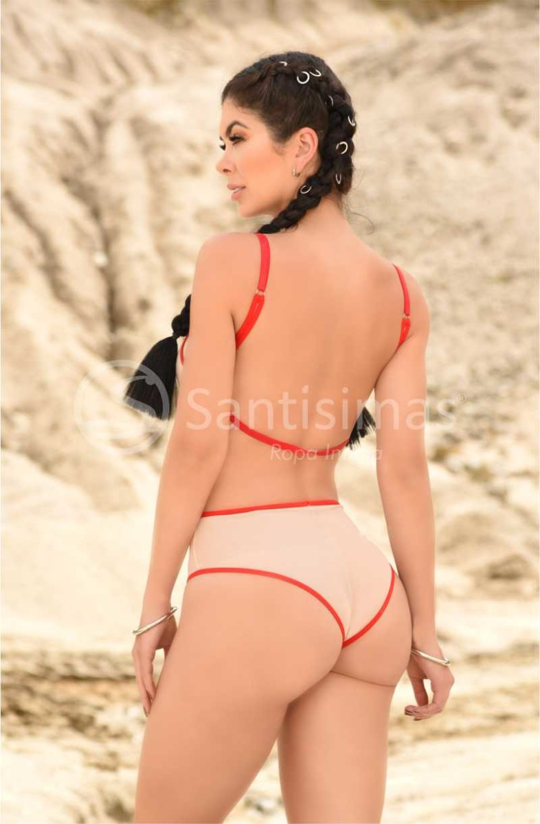 Body Zahara Rojo Santísimas