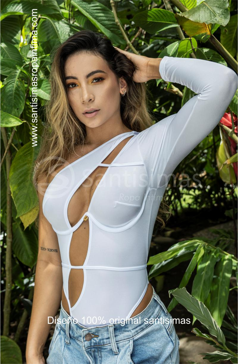 Body Glamazon Blanco 2 - Santísimas
